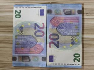 Wholesale Лучшее качество Prop Money UK 100, поддельные 10 20 50 евро, доллар, поддельные деньги, считая дети деньги на фильм, фильм видео, украшение дома 155