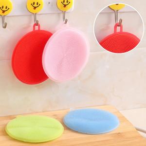 Силиконовые Dish Чаша скруббер Грязь Очистка кухни Посудомоечные Полотенце для Non-Stick Масло для очистки Мойка инструментов кухни щетка для очистки BC BH4398