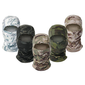 Multicam CP Camouflage Balaclava Full Face Scarf Wargame Cycling Hunting Army Bike Helmet Liner Tactical Cap