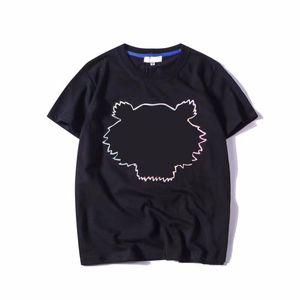 T-shirt da uomo hot summer style modelli ricamo con lettere tees manica corta camicie casual unisex tops asiatiche taglia S-XXL