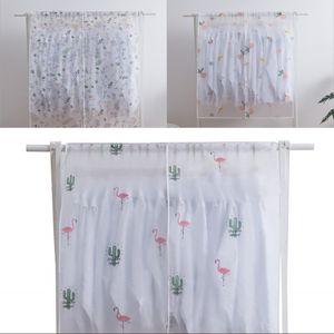 PEVA Magic Stick Cabinet Bag Flamingo Flower Impression Flower Poussique Couverture Couverture Couverture Passage Accrocher Organisateurs Antifouling 5 5WS G2