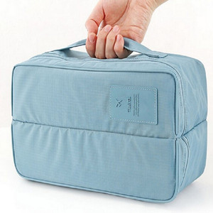 Hot dropselling cheap price Polyester socks underwear men women multifunction wash case storage bag for travel DHB3530