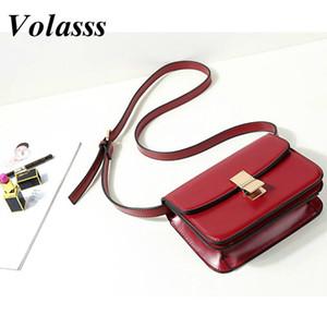 Volasss Женщины Модные Сумки для Качества Crossbody Высокая сумка 2021 Женщины Сумки Новый Кожаный Smfkq