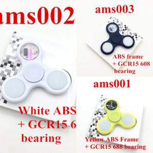 PC bunte 1 glänzende ABS zappeln mit grafischen Mustern Antistress Kunststoff Fign Speeler lindert Handspeiser für Kid K77s