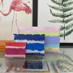 Дизайнерский кошелек Pochette Kirigami 3 штуки комбинированные леди женские сумки сцепления кошелек трех индивидуальных конвертов 3-в-1 м62034