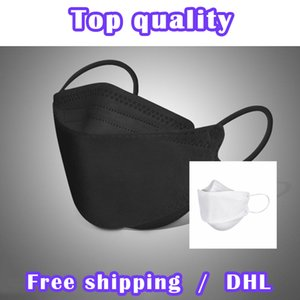 Máscara descartável de alta qualidade adulto crianças poeira à prova de ar de segurança respirável kf94 máscara respirável proteção kf94 frete grátis fábrica