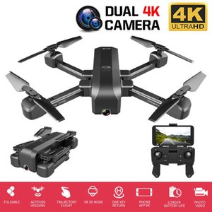 Profession RC Drone 4K HD Dual Camera 50X Times Zoom WIFI FPV Foldable Quadcopter Helicopter Professional Drones Stable Height