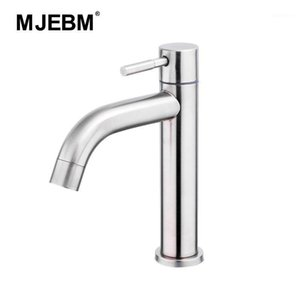 304 stainless steel single cold bathroom sink faucet basin faucet accessories bathroom1