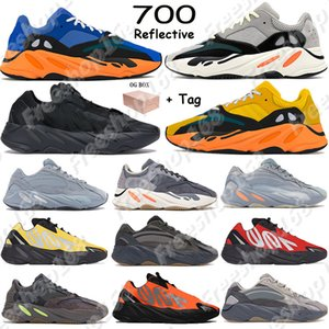 700 2018 Nouvelle Couleur Tephra Analog Hommes Femmes Chaussures OG Vague Runner Solide Gris Statique Mauve Designer Baskets Inertia Geode Vanta Sport Trainers