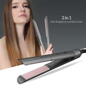 Professional electric Straightener Iron Ceramic Hair curler Curling Iron Straightening Temperature control Flat Iron styler