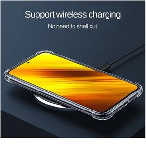 For Xiaomi Poco X3 Nfc Shockproof Tpu Sile Case For Xiaomi Poco X3 Nfc F2 M2 Pro Pocophone F1 Transparent So bbynIW