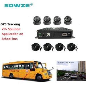 AHD Mobil DVR GPS 4CH Okul Otobüs Sistemi MDVR Mobil DVR Kiti