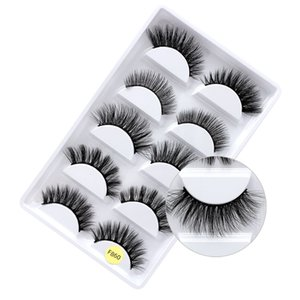 2021 New F60 3d mink lashes custom packaging false eyelashes 25 mm fluffy mink lashes individual eyelashes faux mink lashes 2021 NEW 5D
