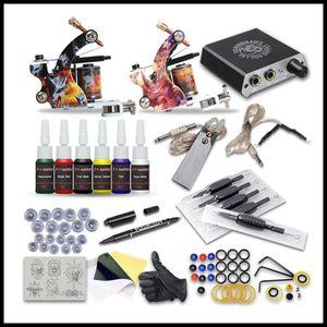 Epack Dragonhawk Arashi Kit de tatuaje Rotary Hybrid Tattoo Pen Machine Mini fuente de alimentación Agujas desechables Suministro de tatuajes