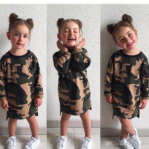 Designer Camouflage Baby Clothes Kids Clothing Girls Summer Jumpsuit Boys Girls Infant Pajamas Set Boy Clothes Styles Knee Length Dresses B1