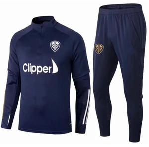 20 21 Leeds T Roberts Football Stracksuit 2020/21 هاريسون كوستا Alioski Klich Hernandez Bamford Clarke Fostbal Training Kit