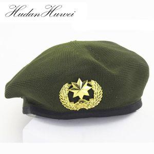 القبعات الاكريليك صافي كاب شبكة محبوك تنفس القبعات للبالغين والأطفال مروحة الجيش الرجال النساء أداء الطفل قبعة