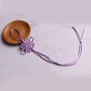 10pc mini noeuds chinois Tassels Pendentif Accessoires Accueil Textile Rideau Vêtements Tassel Handicraft Corde DIY Matière décorative H JLLFGO