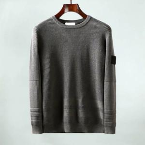 Topstoney Jumper CP Mens maglione inverno Pull caldo Coppia camicia casual Cyberpunk Felpa Collo alto Maglione 3Colors Asiatica Misura