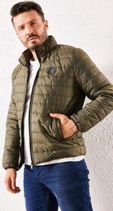Men, Puffer Jacket, Coat, Winter, Autumn, Stylish., Comfortable, with Zipper, New Fashion, Red, Black, Dark Blue, Camel Z1124