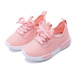 JoyHopy Spring Spring Autourn Enfants Chaussures Nouveau Mode Mesh Casual Children Sneakers pour Goy Fille Toddler Chaussures Sport respirant bébé