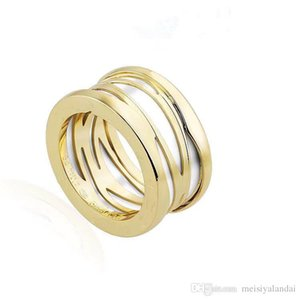2019 real diamond engagement rings white gold womens wedding rings Spiral hollow stainless steel ring promise rings
