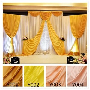 Rayon wedding cloth, tableware and curtains are used for wedding site decoration, and gold gift box is lined with lining cloth