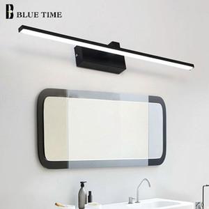 Simple Modern Led Wall Light Bathroom Lamp Black&White Body Sconce Led Wall Lamp Bathroom Mirror Front Light Luminaire 110v 220v