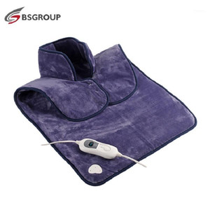 220V EU Plug Extra Large Size 60*90cm Microplush Electric Heating Pad Wrap for Back and shoulder Winter Warmer and Pain Relief1