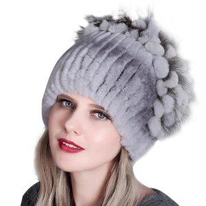 Women Autumn Winter Fashion Vintage Tie Dye Outdoor Fur Keep Warm Luxury Hats Casual Cute Novelty Thicken Cap Wholesale 2020 New