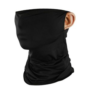 Motorcycle Windproof Sun Proctect Cycling Face Neck Mask Triangle Scarf Bandana Hood Half Face Breathable Dustproof Headband