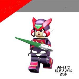 Anime originali assemblati minifigure action figure giocattolo Kid Super Hero Series Block Regali per Bambino Adulto