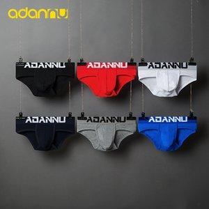 ADANNU Brand male underwear men briefs modal breathable comfortable underpants slip homme ropa interior hombre men briefs sexy Q1122