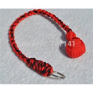 Livraison gratuite Paracord Monkey Fist Keychain 1 \