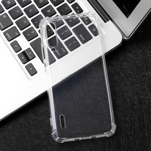 For Xiaomi Mi 10 Lite Pro 9 Lite Pro 5G CC9 Note 9 Pro Black shark 3 Crystal transparent Shockproof mobile phone case