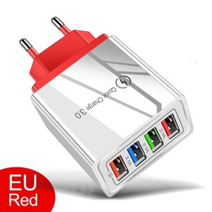 USB Charger Quick Charge 3.0 Phone Adapter for Xiaomi Tablet Portable Wall Mobile Fast Charger EU US Plug