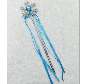 Fairy Wand Ribbons Christmas Wedding Party Snowflake Gem Sticks Magic Wands Confetti Party Props Decoration Events bbyQcW yh_pack