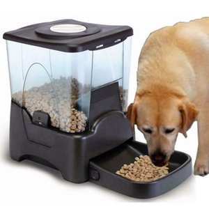NEW 10L LCD Display Programmable Portion Contro Automatic Pet Food Feeder