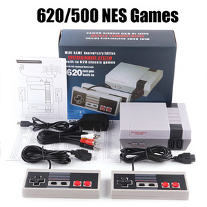 New Arrival Mini TV Can Store 620 500 Game Console Video Handheld For NES Games Consoles With Retail Box High Quality