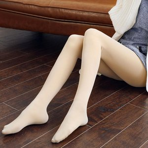 2020 Winter New Tights Fashion Jumpsuit Warm And Comfortable Female Models Thin Section Thick Section Slim Knit Elastic Leggings