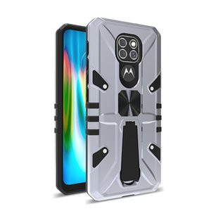 For Motorola MOTO G9 PLAY G9 PLUS Case Ring bracket function magnet car Cell Phone Case anti-fall and anti-skid Mobile Back Cover