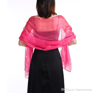 Brand silk scarf High Quality women brand wedding dress colorful shawl scarfs Pashmina fashion long ring Christmas gift wholesale