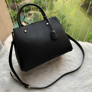Designer- Designer Luxus Messenger Handtasche Leder Strim Griffe mit Schultergurt Crossbody Bag French Bag
