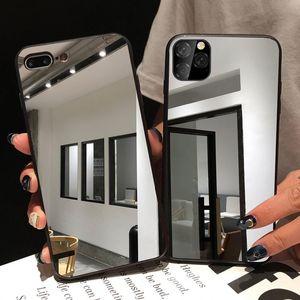 Tpu Mirror Case For Iphone 12 mini 12 pro max 11 Pro Max 7 Plus 8 Plus,Mirror Phone Case Cover,For Iphone Mirror Case