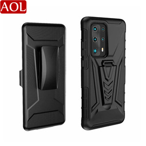 Future Armor Impact Hybrid Hard Case For iPhone 12 mini 11 Pro MAX XR Xs SE Stand Combo Cover For Galaxy S20 FE S10 Note 20 Ultra Huawei