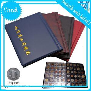 1 Pc Commemorative Book 10 Page 250 Units Coin Album Collection Munthouders Multi-color