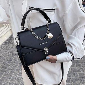 2021 новая женская сумка искусственная кожа корейский стиль диагональ моды маленькая квадратная сумка дикий студент повседневный простой плечо