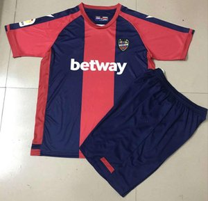 2020 2021 Levante Soccer Jerseys Home Blue Bardhi J.G.Campana Personnalisé 20 21 Levante UD Adulte + Chemises de football enfants Uniformes