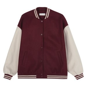 2021 New Woman Baseball Jacket Autumn Winter Kpop Style Clothes Streetwear 6zar