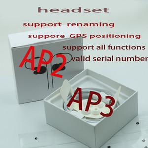 Casques de tête sans fil en gros et au détail Prise en charge de la renommée GPS Positionnement GPS AP2 Chargement sans fil Bluetooth Casque Bluetooth AP3 Deuxième génération Earplu